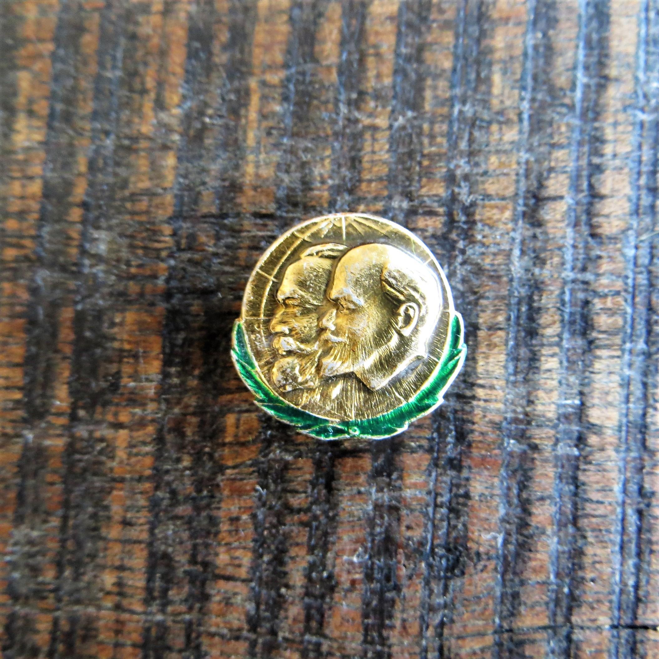 Pin Lenin Marx