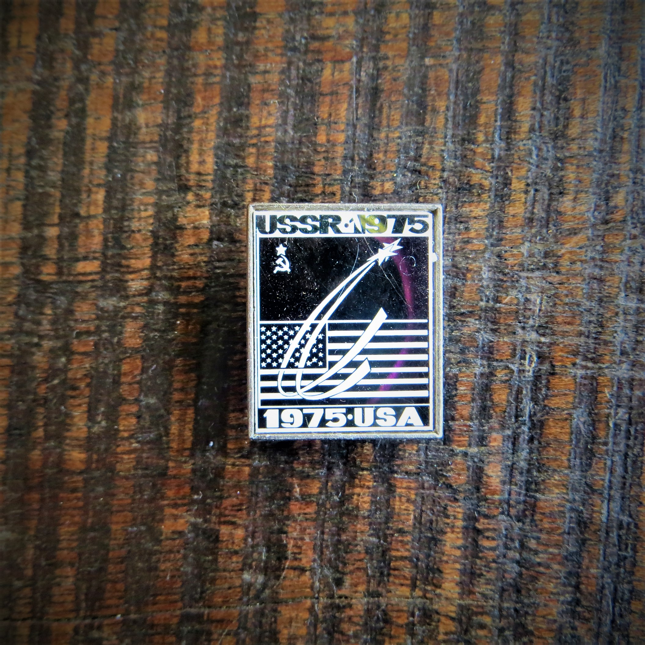 Pin Soviet Union Space