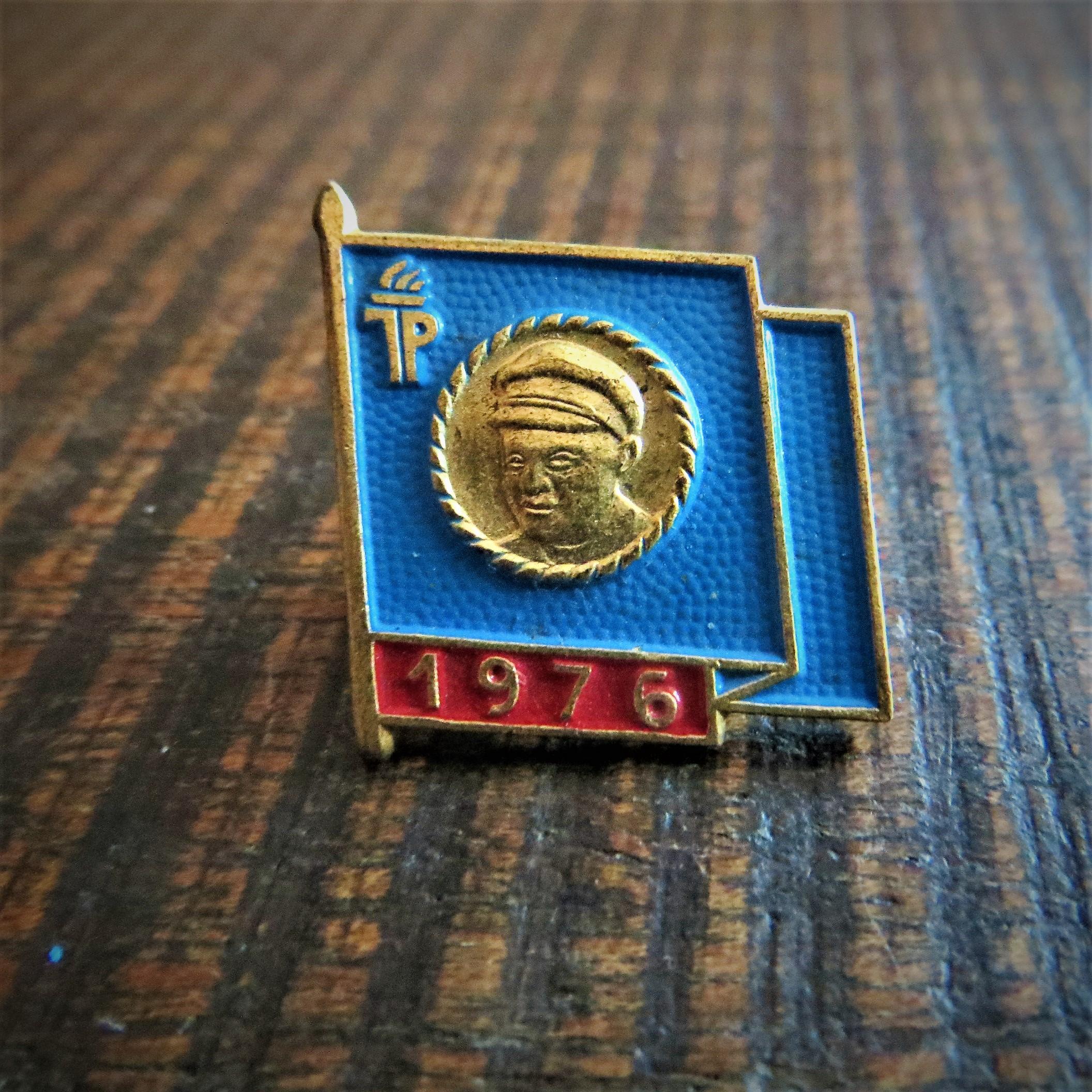 Pin Thalmann 1976 (1)