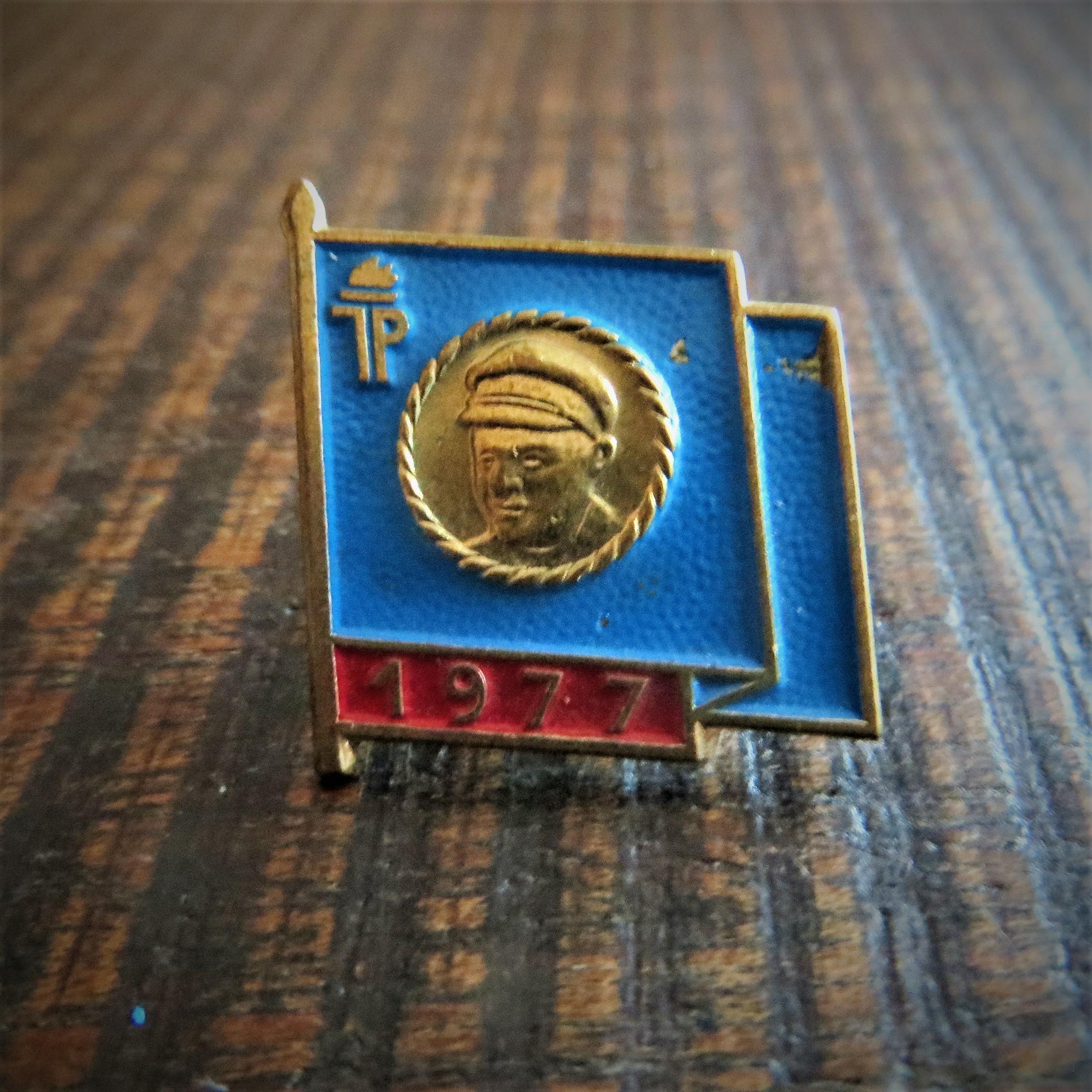 Pin Thalmann 1977 (1)