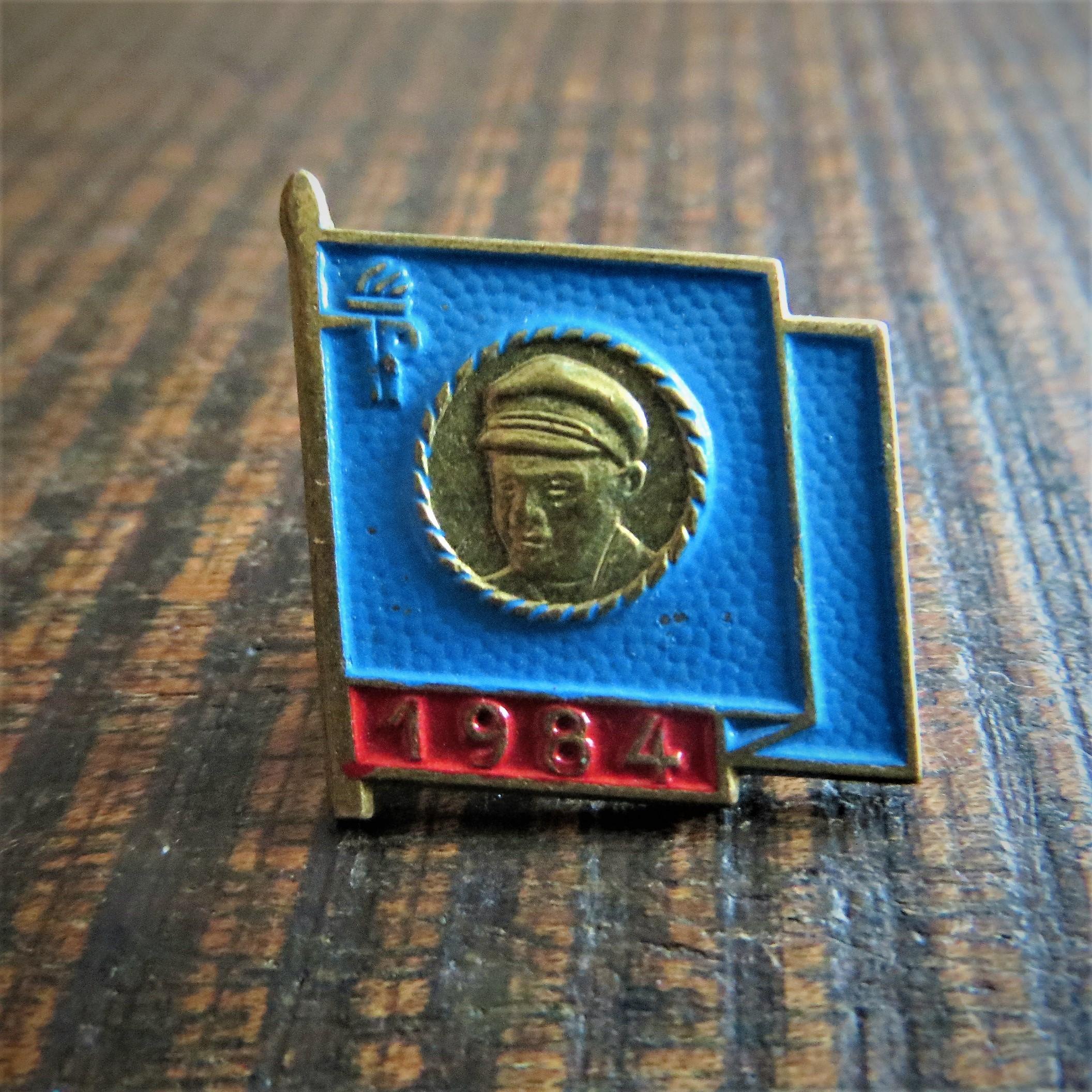 Pin Thalmann 1984 (1)