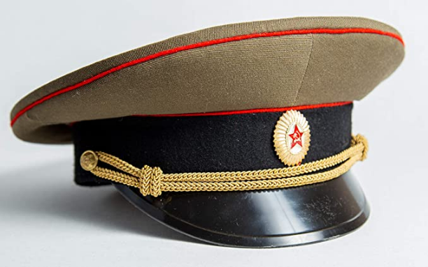 Screenshot_2020-12-29 Amazon com USSR Military Uniform Dress Hat Visor Cap Army New Soviet Officer Field Forage Size Size 5[...]