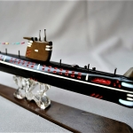 Soviet Model Submarine Foxtrot B400 (4)