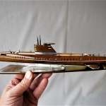 Soviet Union Submarine Model (2)