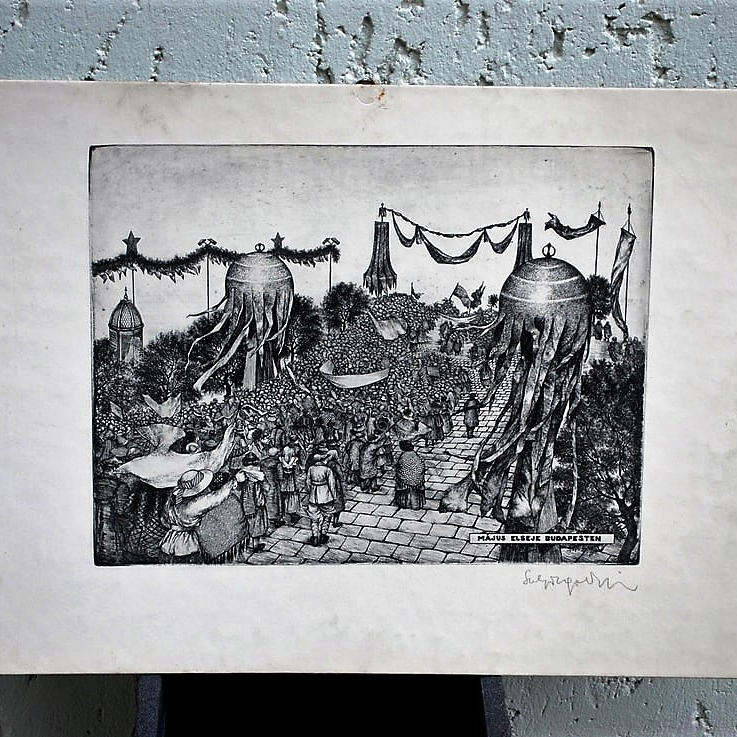 tekeningen-5-stuks-hongaars-gesigneerd-militair-1-mei-viering-boedapest-begin-1919-4_orig