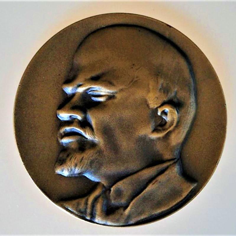 lenin-plaque-hoofd-brons-achterop-inscriptie-geschonken-in-1975-voor-uitstekend-politieke-werkzaamheden-2-medium_orig