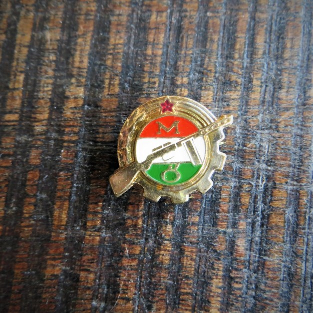 Pin Hungary Workers Guardian