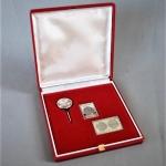 Intercosmos Silver pin set 1980 (1)