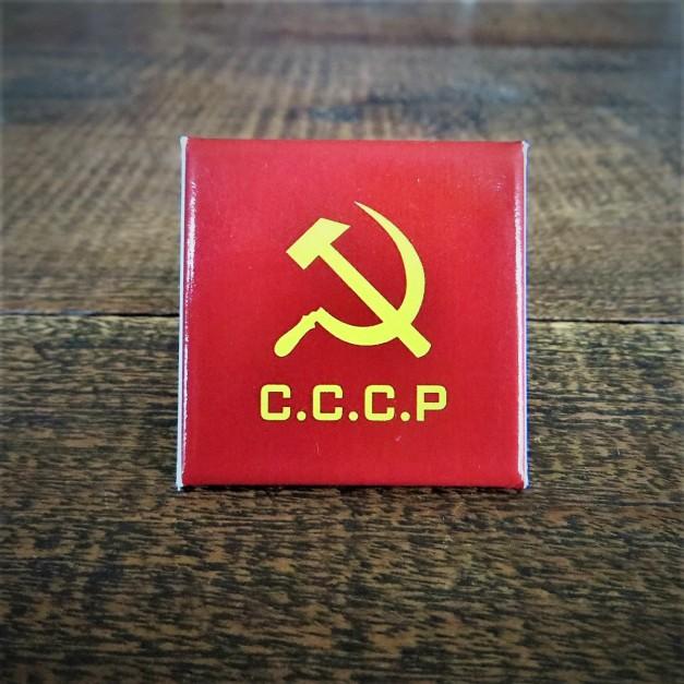 Fridge Magnet CCCP Flag