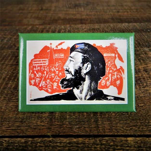 Fridge Magnet Fidel Castro