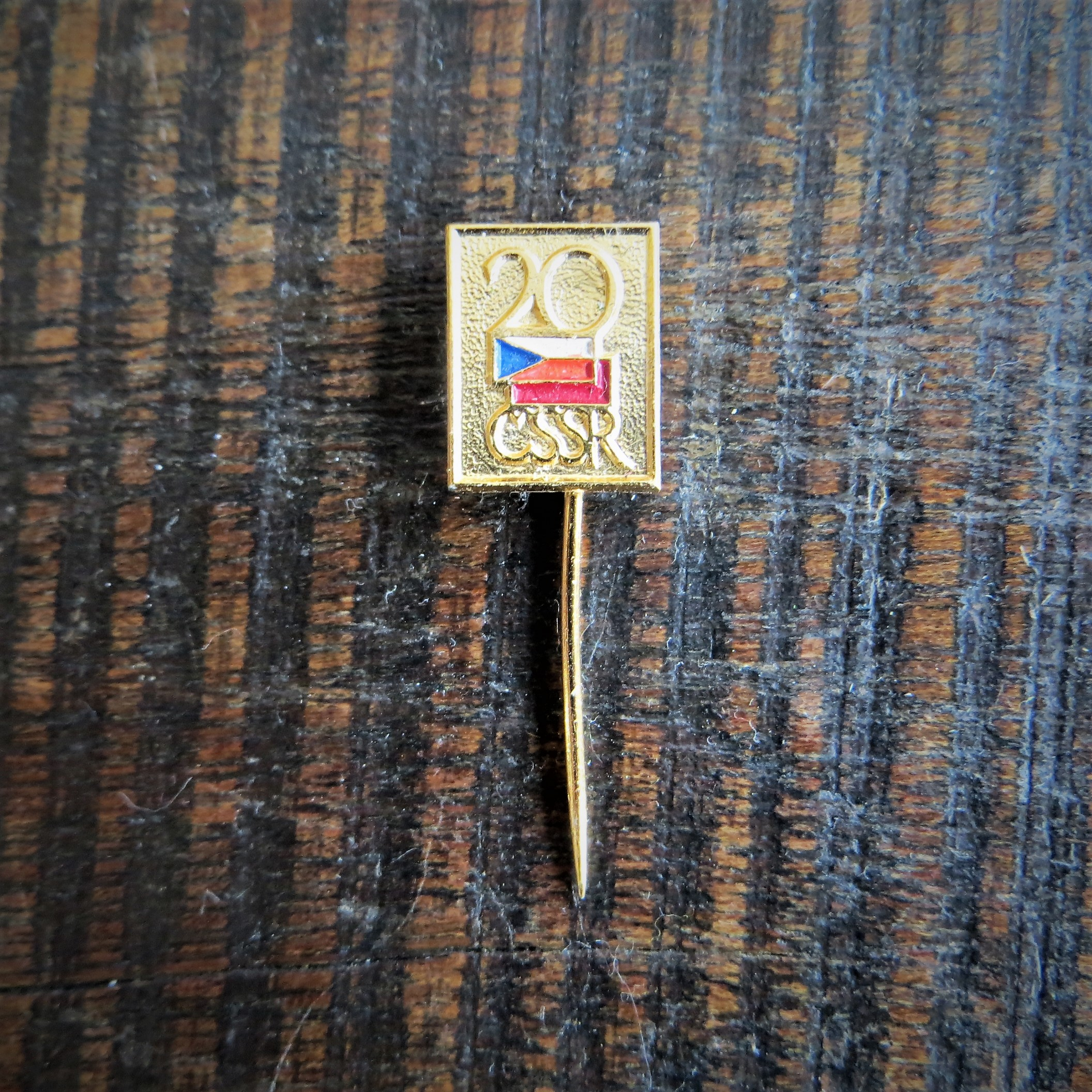 Pin Czechoslovakia