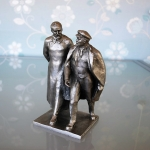 Statue Lenin And Dzerzhinsky (1)