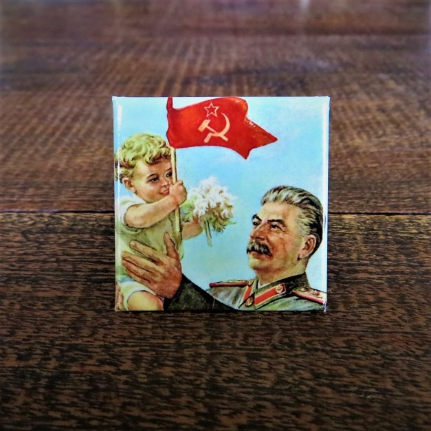 Fridge Magnet Stalin