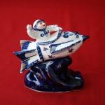 Porcelain figure Yuri Gagarin (1)