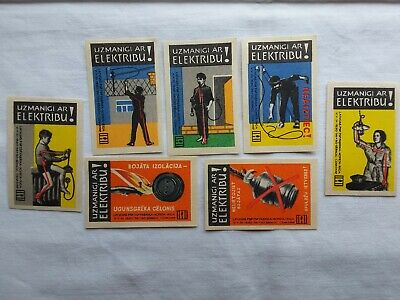 matchbox-labels-ussr-latvia