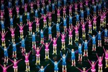 Children-in-the-Mass-Games-North-Korea