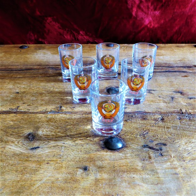 CCCP Shot Glasses (2)