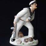 Porcelain Soviet Sailor (1)