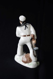 Porcelain Soviet Sailor (3)