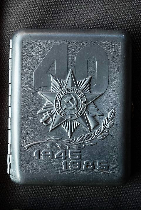 Cigarette Case Soviet Union (1)