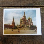 Postcard set Moscow (9)