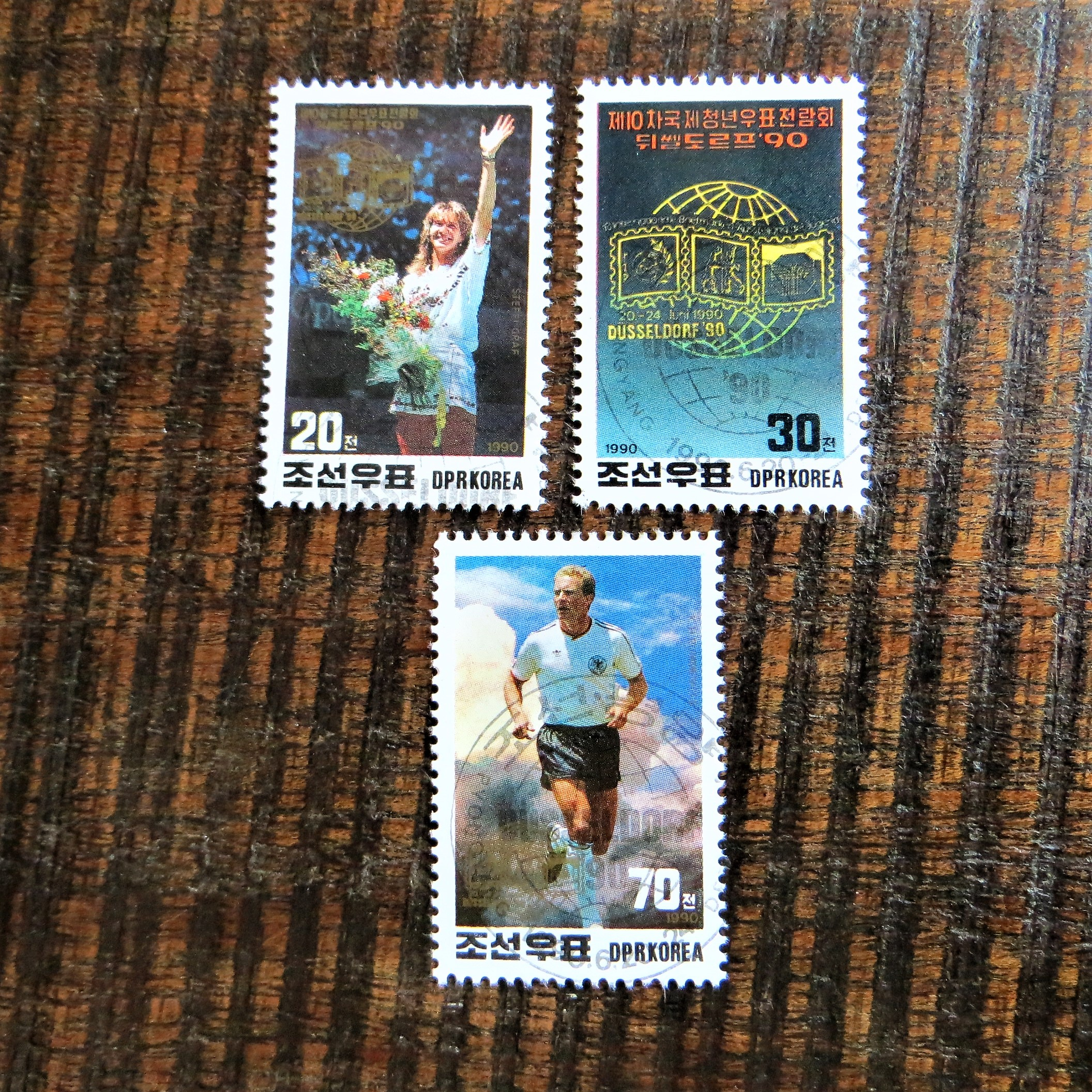 Stamps North Korea (1)