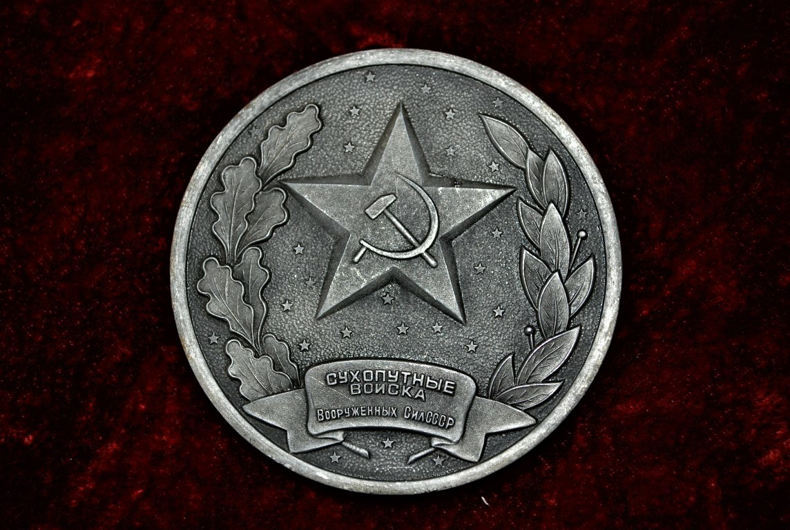Table Medal Soviet Union (1)