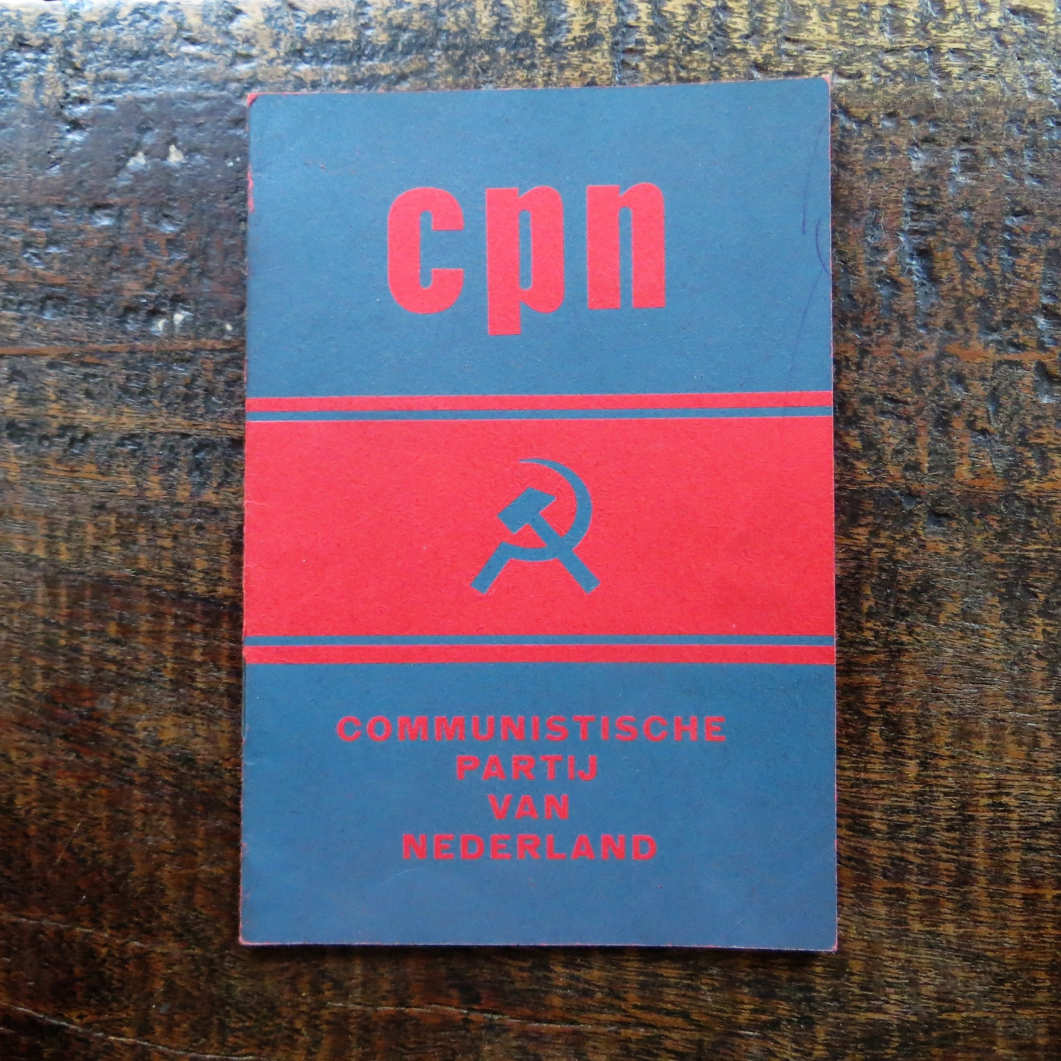 membership-booklet-communist-party-netherlands-1