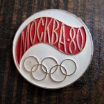 Pin Olympic Games 1980 Moscow