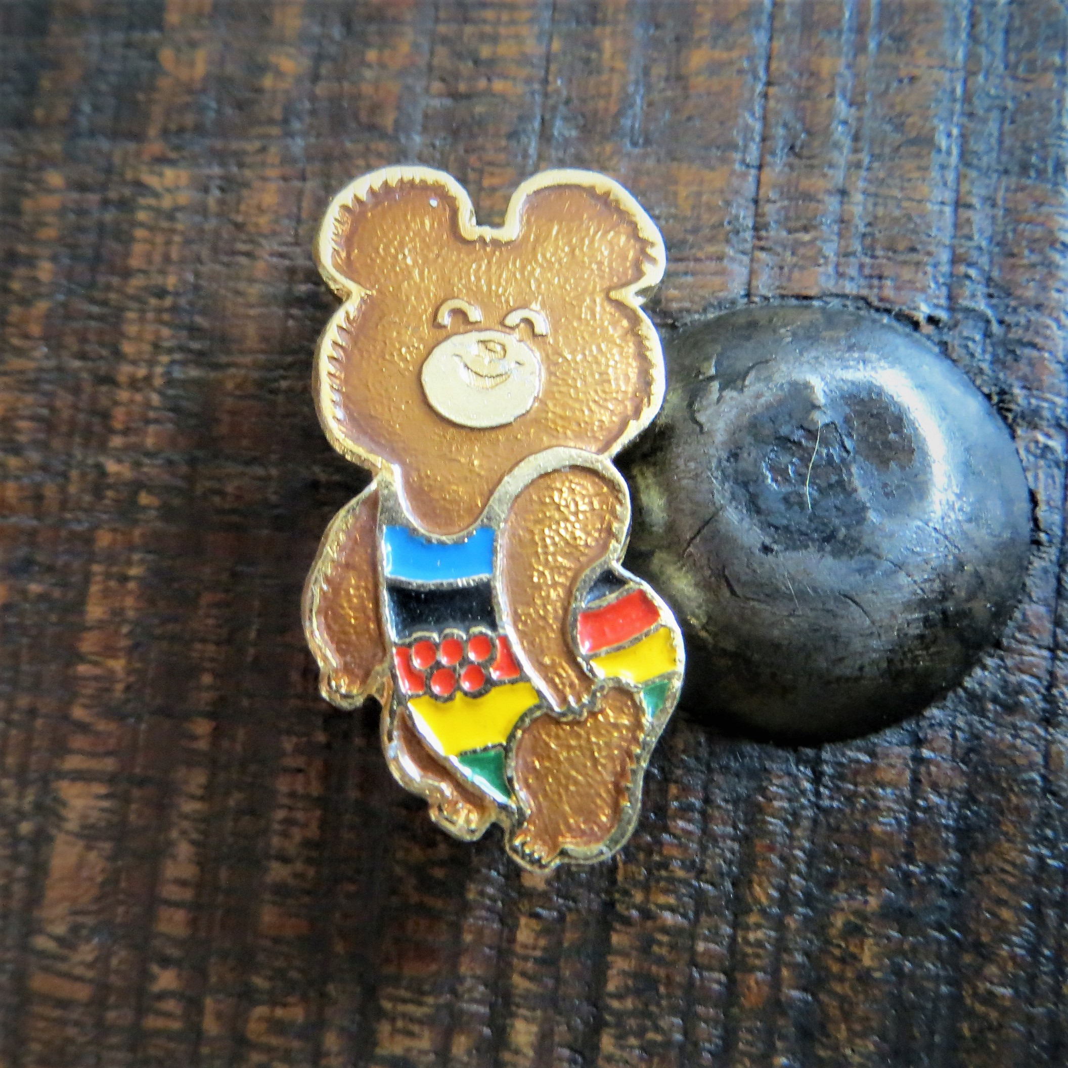Pin Soviet Olympic Games