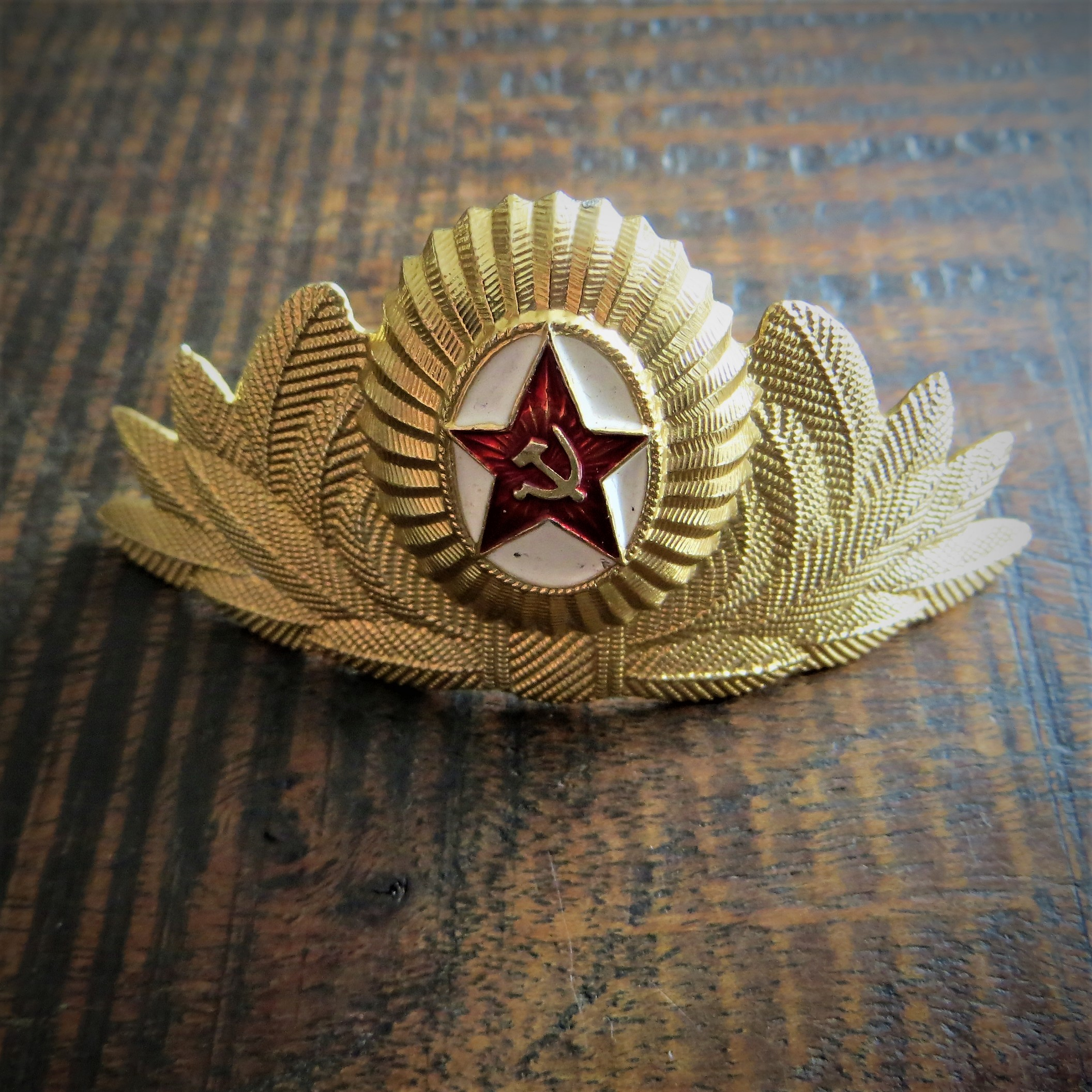 Pin Soviet Union Army Hat