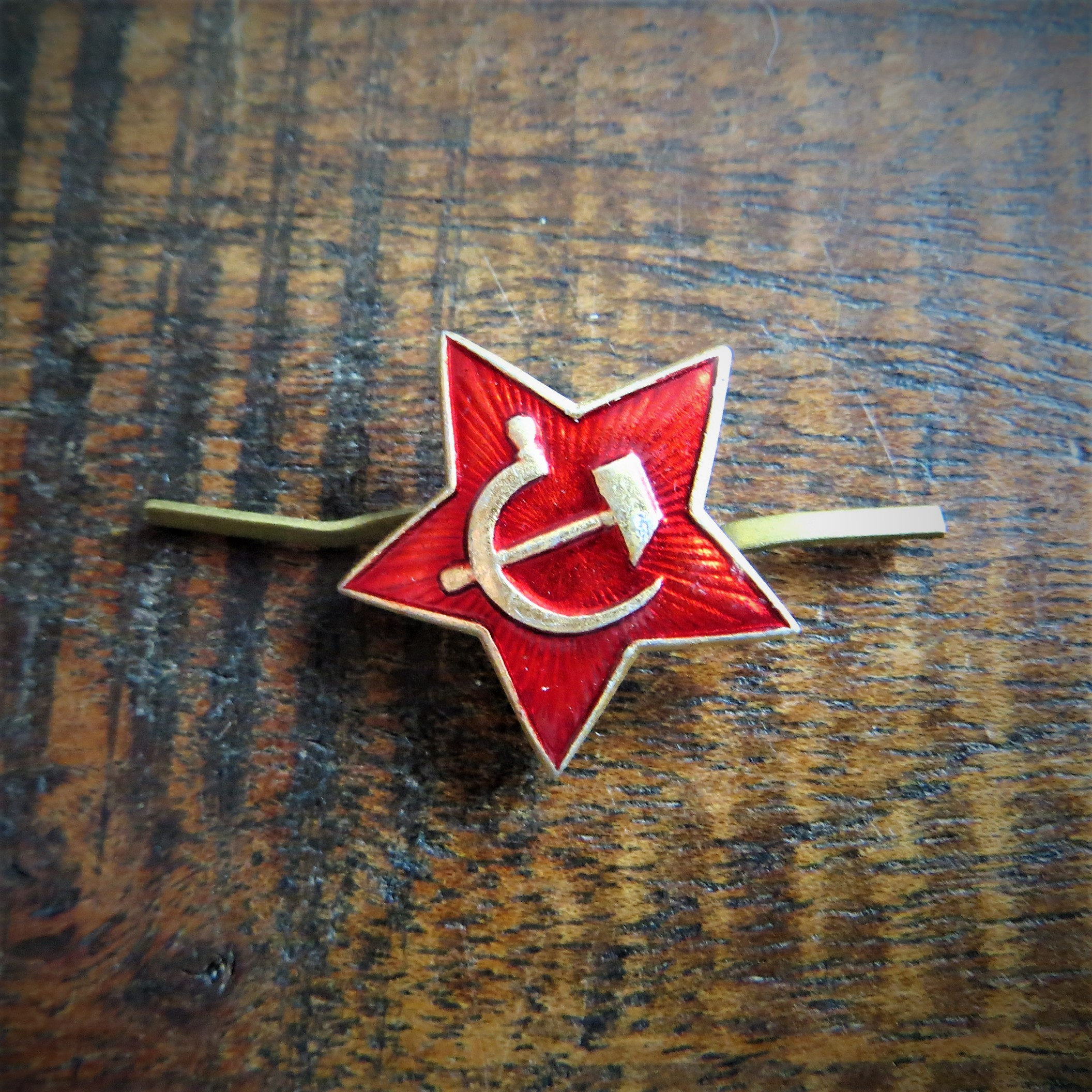 Pin Soviet Union Hat