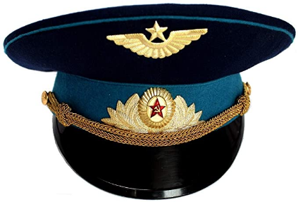 Screenshot_2020-12-29 Amazon com ORIGINAL Soviet USSR Air Force Officer Cap Hat 1980th with Original Cap Badges Clothing