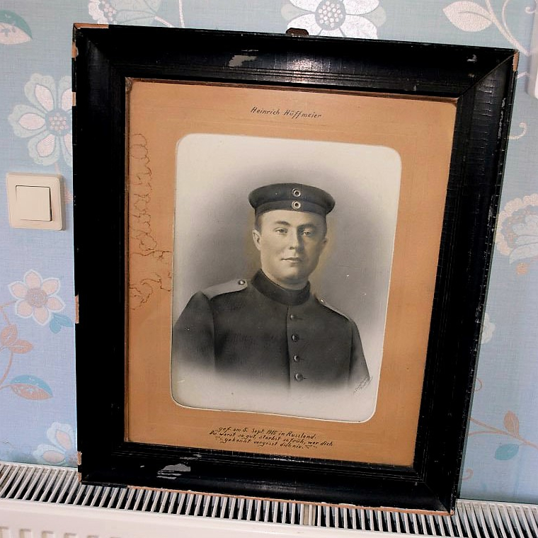 Soldier WWI In Frame (1)