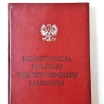 Book Constitution Of The Polish People's Republic (1)