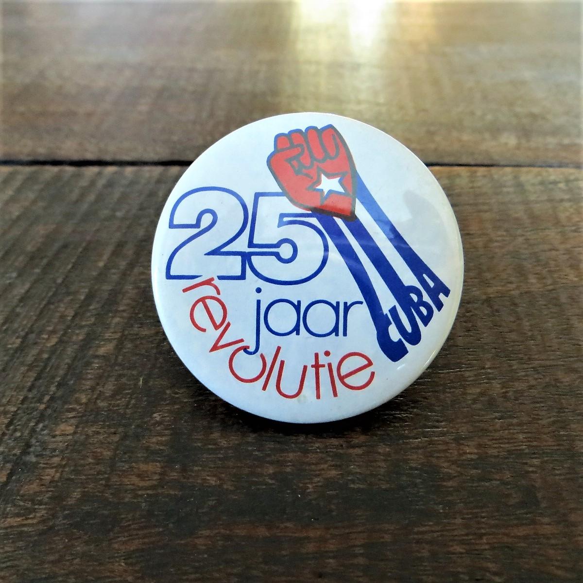 button-25-jaar-revolutie-cuba-1