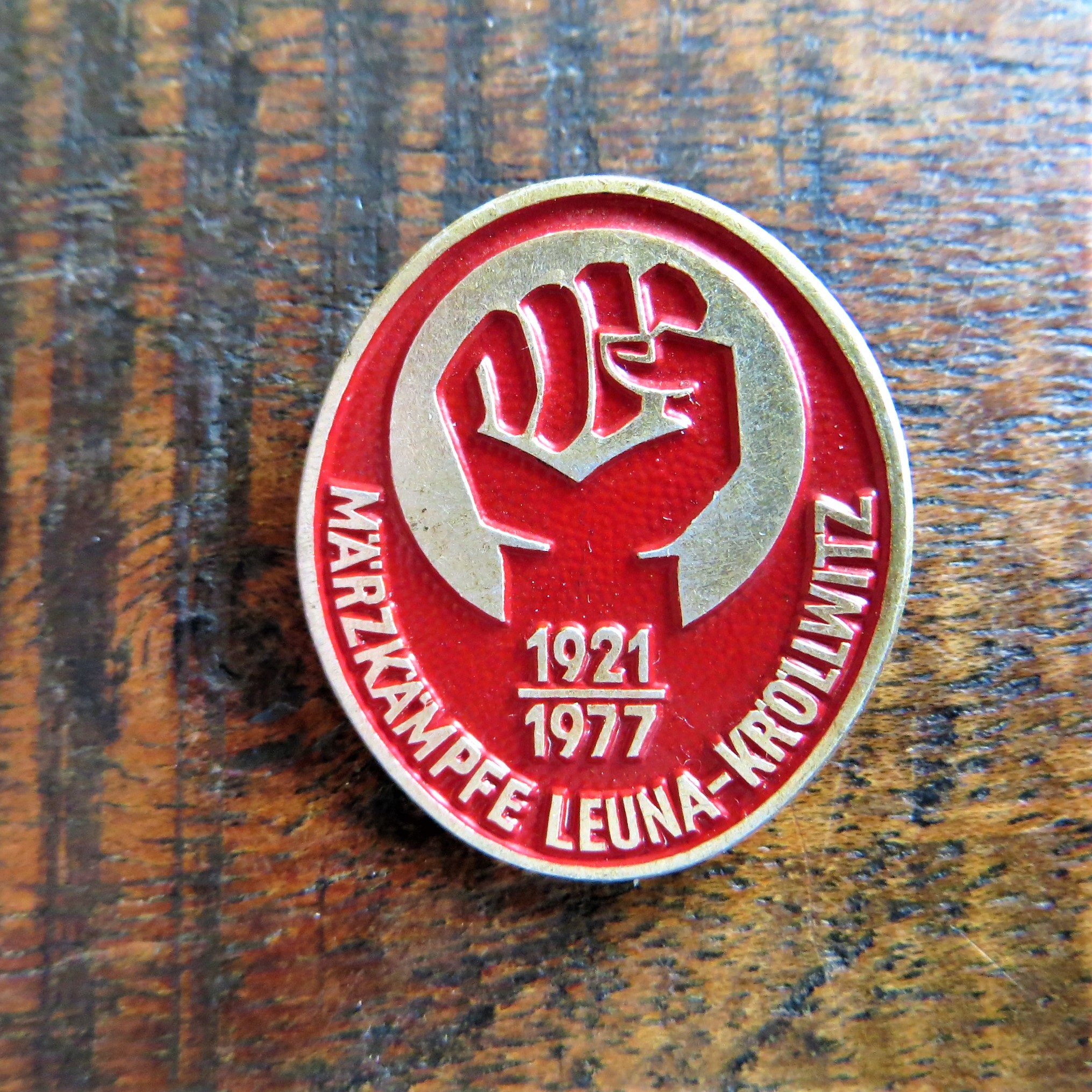Pin March Kampf
