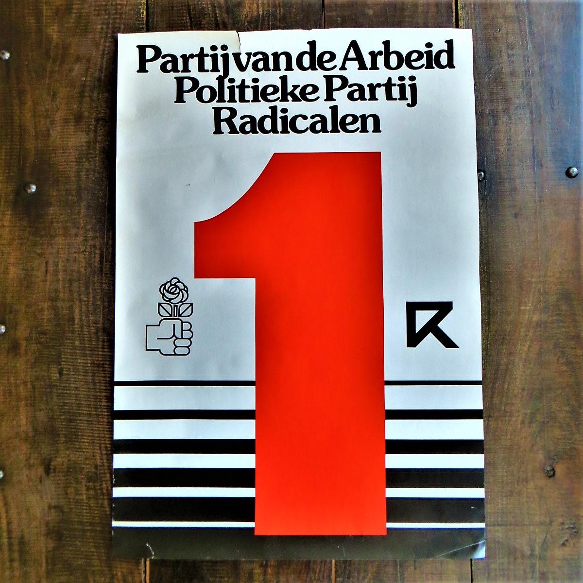 poster-pvda-politieke-partij-radicalen-1
