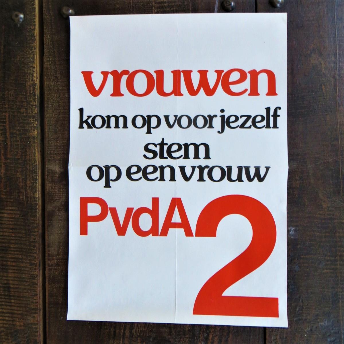 poster-pvda-stem-op-een-vrouw-1