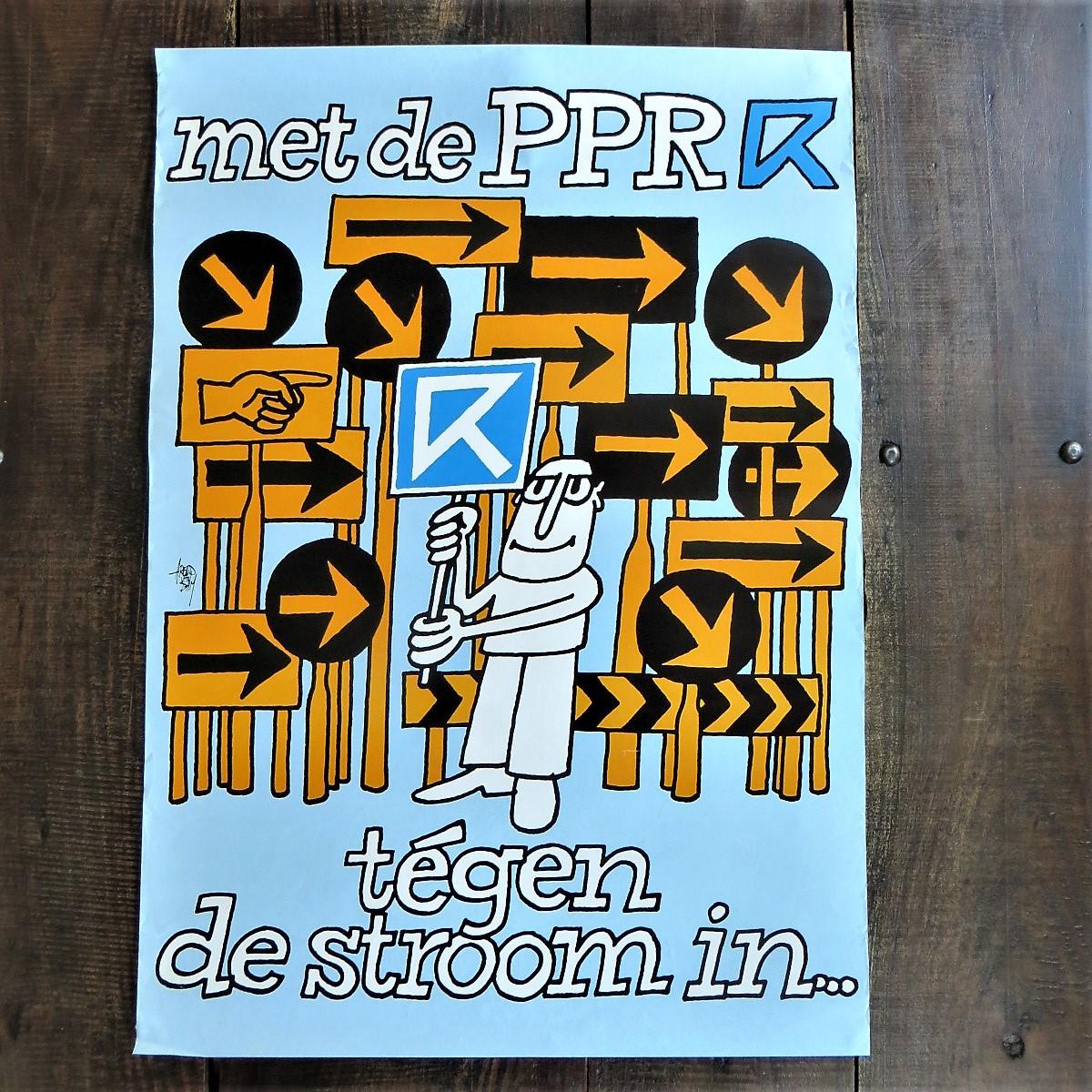 poster-ppr-tegen-de-stroom-in-1