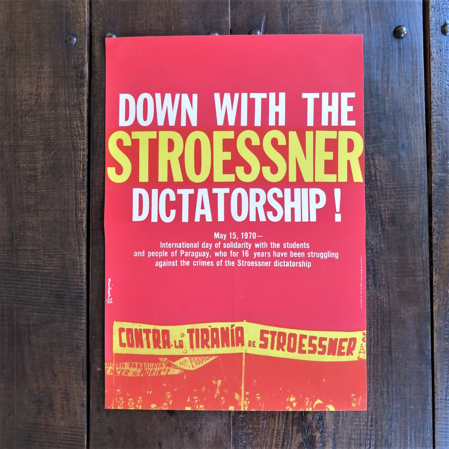poster-down-with-the-stroessner-dictatorship-1