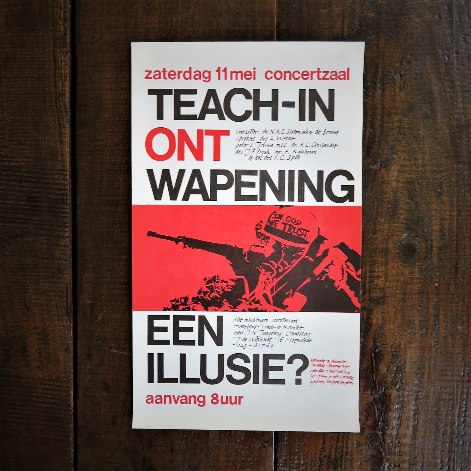 poster-teach-in-ontwapening-een-illusie-1